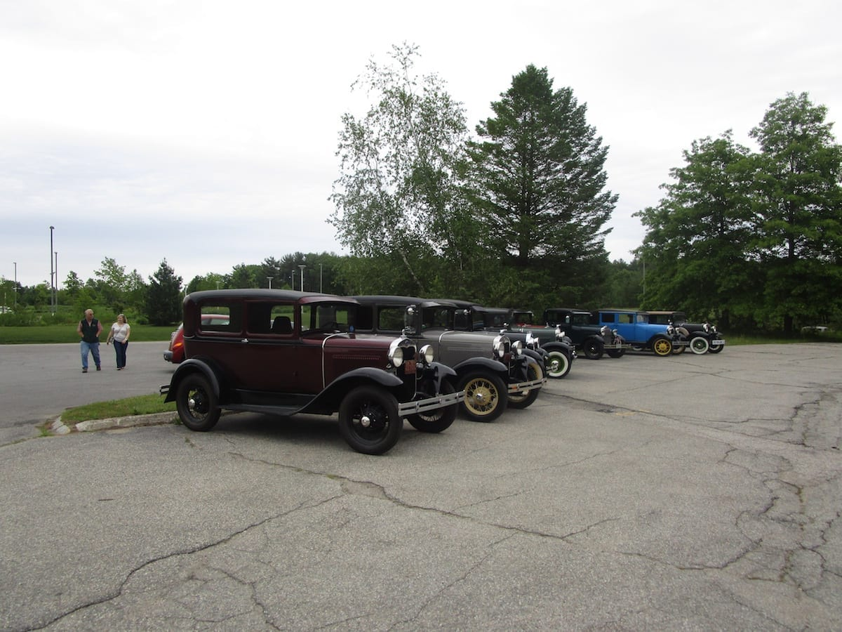 Competition Motors recently hosted a tour of our shop, sponsored by the Pine Tree Model A Club