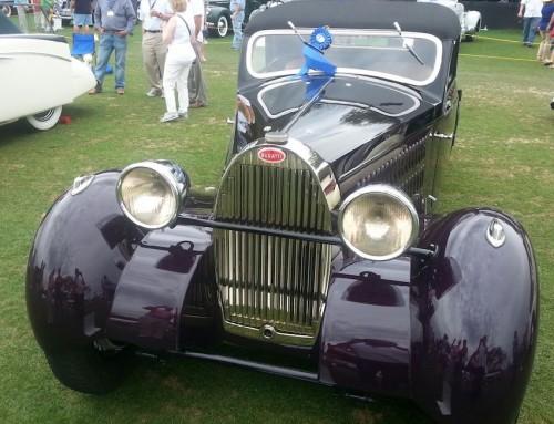1938 Bugatti 57 – won Best in Class