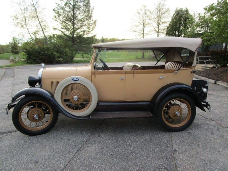 1929 Ford Model A Phaeton 18 500 Sold Competition