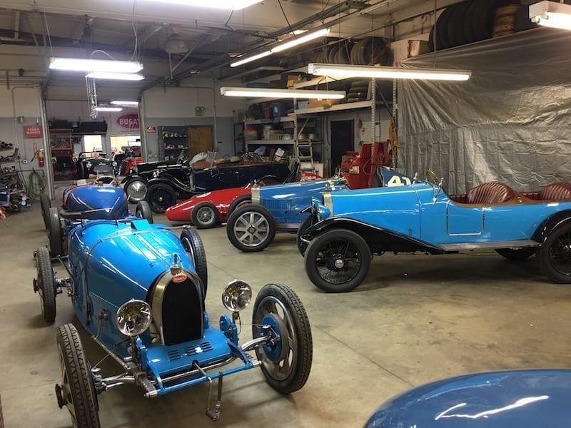 Bugatti restoration